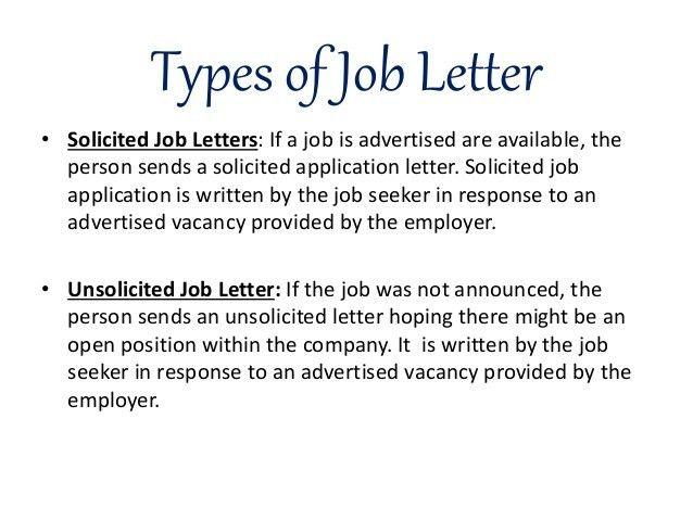 Job letter & resume writing (raw file)