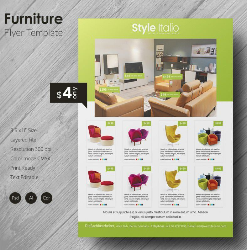 Grand Furniture Flyer Template | Free & Premium Templates