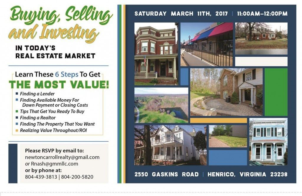 Buying, Selling And Investing In Richmond, Virginia Real Estate ...