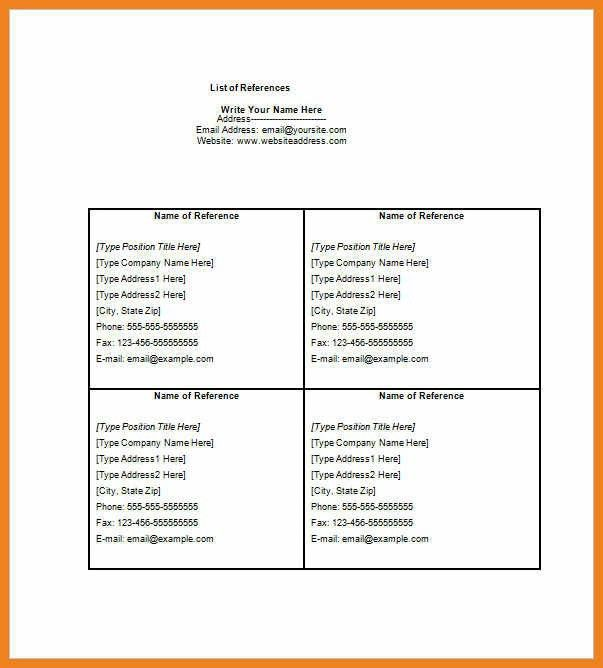 reference list format | teller resume sample