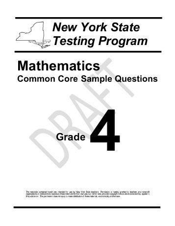 Common Core Math Examples Grade 2