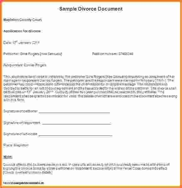 6+ sample divorce papers - Sales Report Template