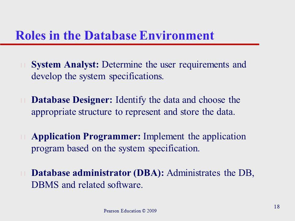 Chapter 1 Introduction to Databases Pearson Education © ppt download
