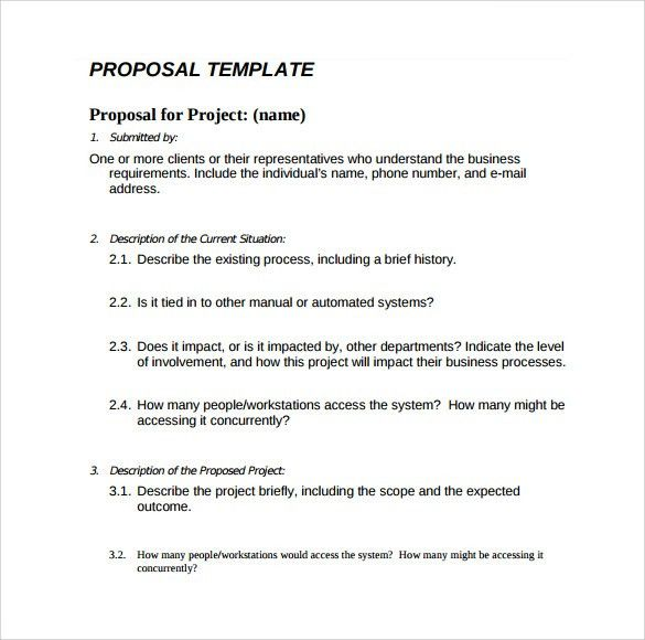 28+ Basic Business Proposal Template | Sample Simple Proposal 6 ...