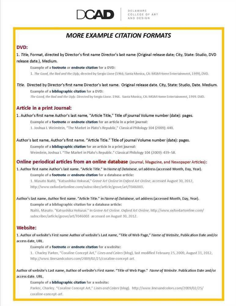 Chicago Manual of Style Citation Guide - Ohio State University