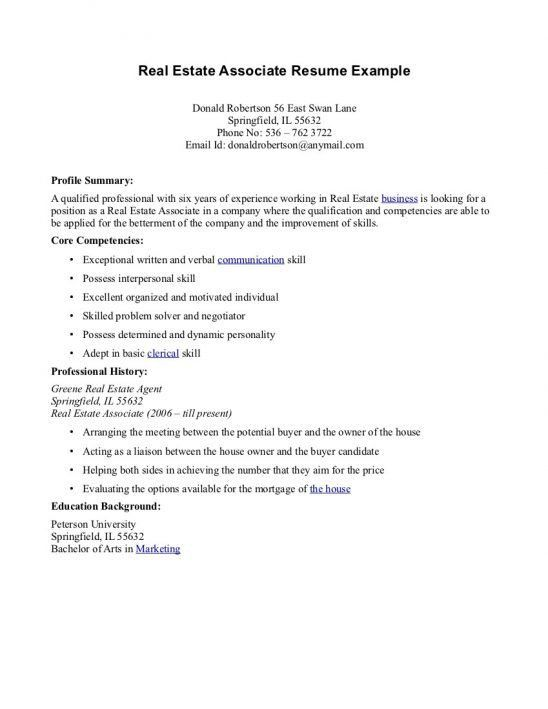 top 8 real estate assistant resume samples in this file you can ...