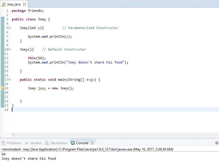 Java - Chapter 12 | This Java Keyword | Using This in Java ...