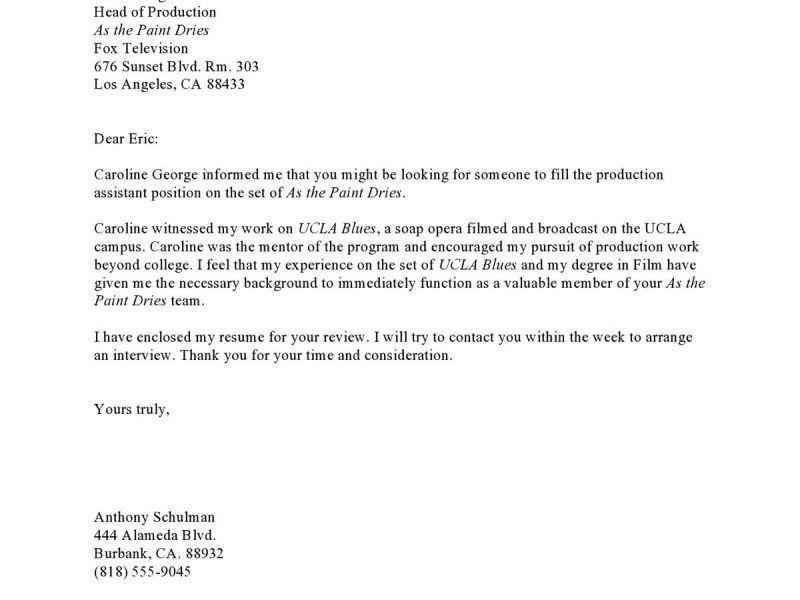 referral cover letter samples