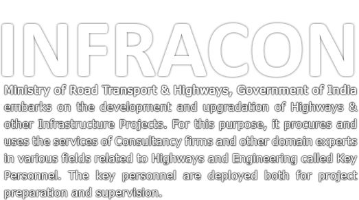 INFRACON, Ministry of Road Transport & consultant_highways ...