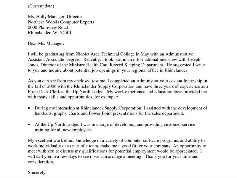 Cover Letter Opening - CV Resume Ideas