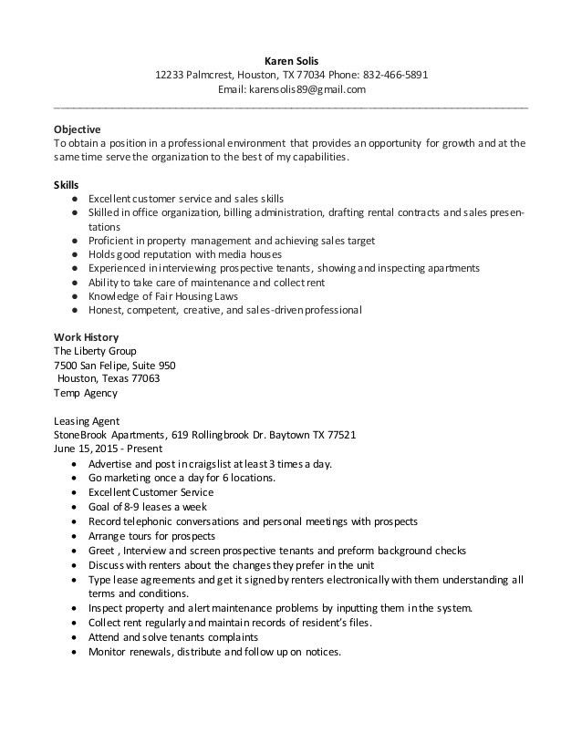 cover letter healthcare consultant resume leasing consultant ...