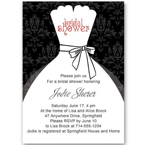 Online Bridal Shower Invitations Template | Best Template Collection