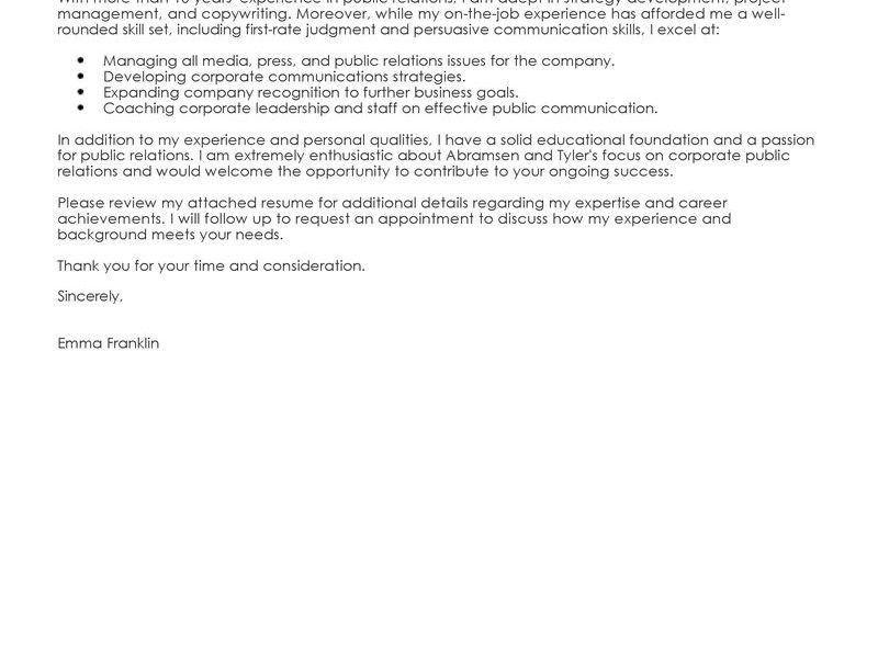 Vibrant Inspiration Business Cover Letter 2 Best Examples - CV ...
