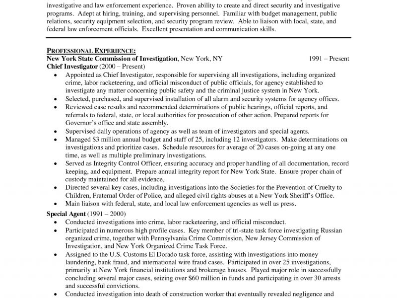 Enjoyable Police Officer Resume Example 15 Access Control - Resume ...