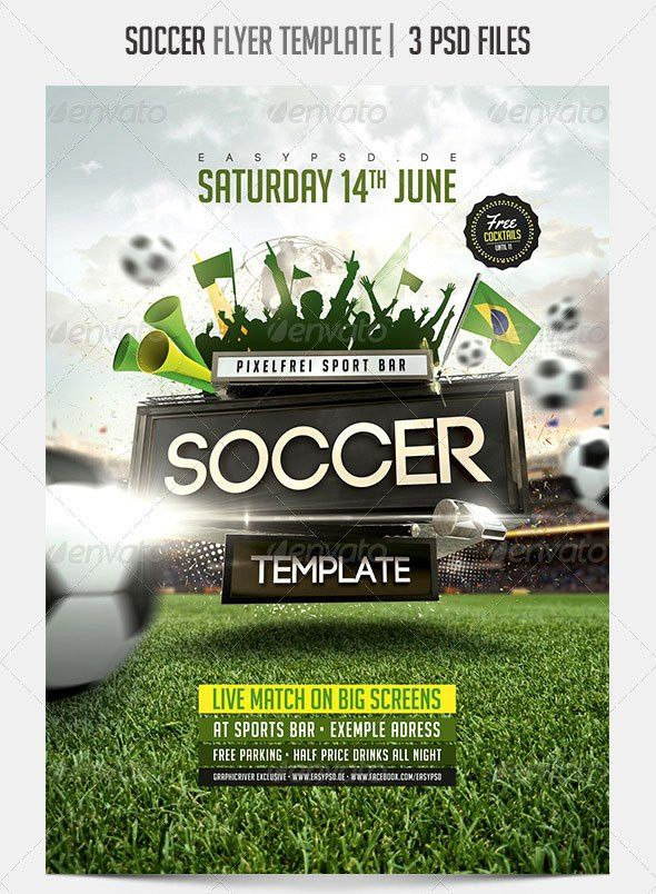 Soccer Flyer Templates - Word Excel Samples