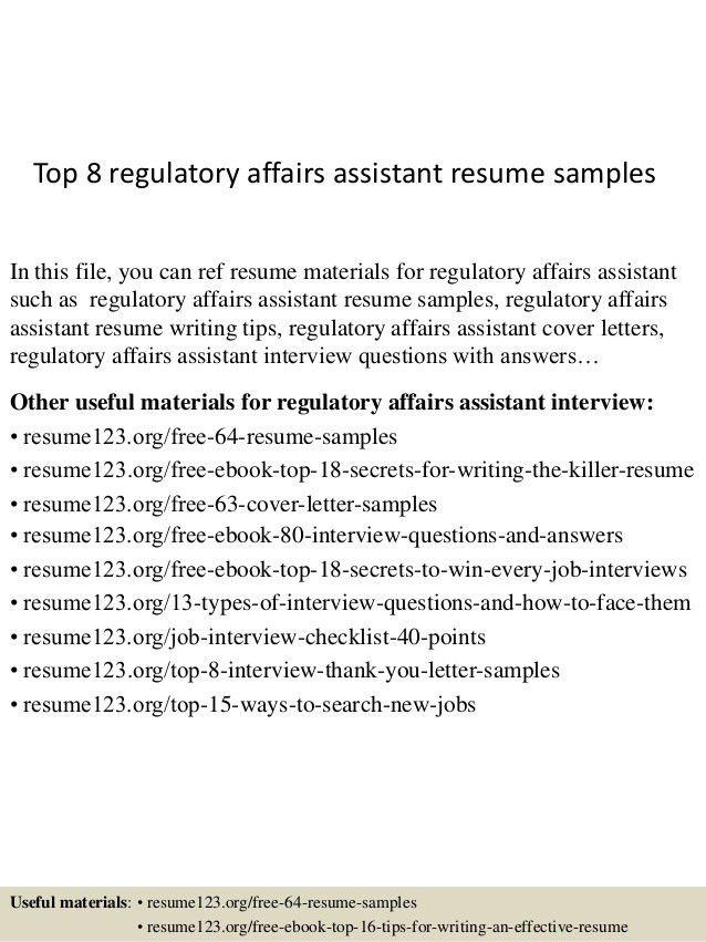 top-8-regulatory-affairs-assistant-resume-samples-1-638.jpg?cb=1432958053