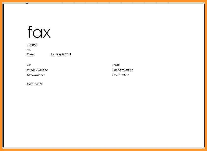 Confidential Fax Cover Sheet. Cover Fax Cover Letter Word Fax ...