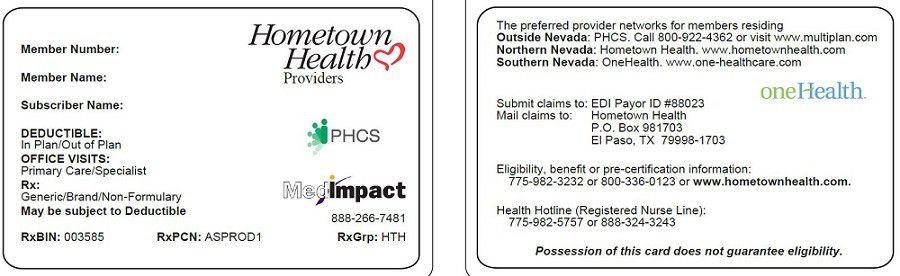 Hometown Health | Your Membership Card - Hometown Health