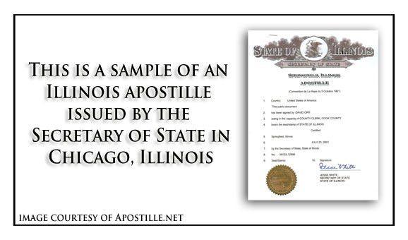 Illinois Apostille - Apostille Service by Apostille.net