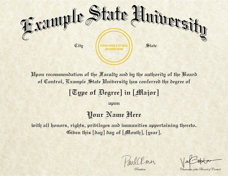 Buy A Fake College Degree Online!