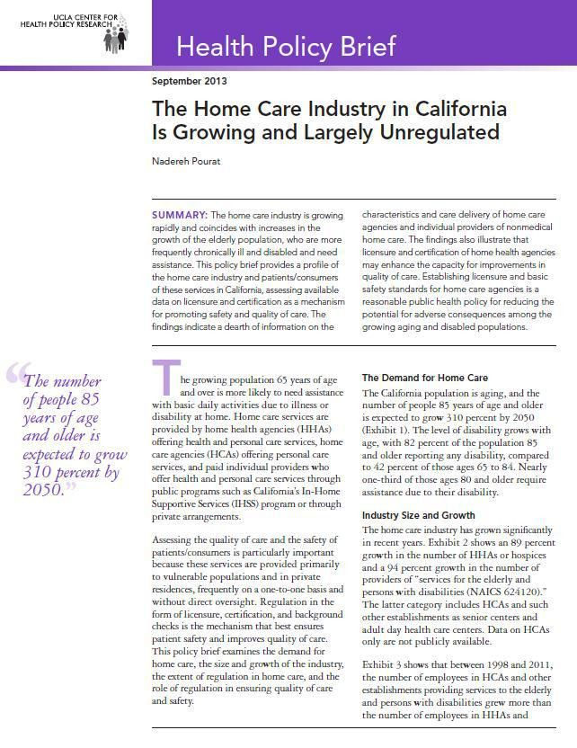 Search Press Releases | UCLA Center for Health Policy Research