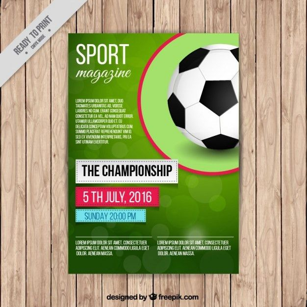 Sport Flyer Vectors, Photos and PSD files   Free Download
