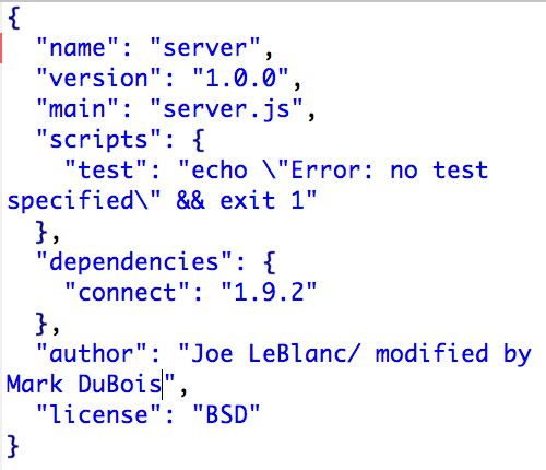 Node.js Server (part 3 of 3)   Learning HTML5