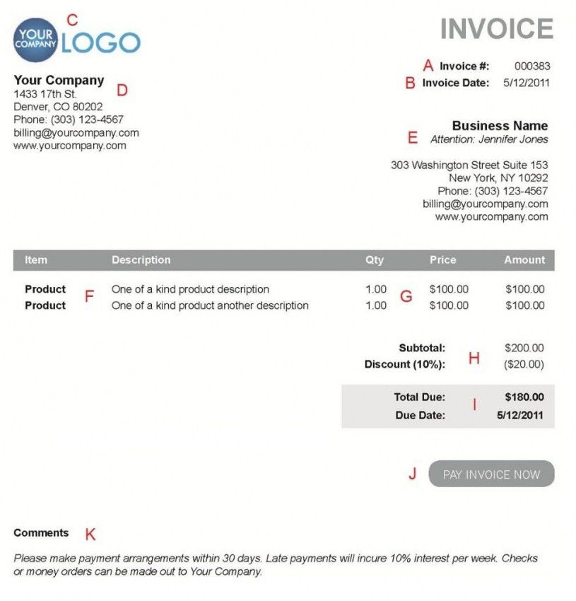 Download Create Invoice Template Online Free | rabitah.net