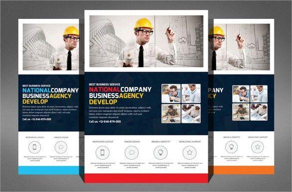 Construction Company Flyer - 25+ Free PSD, AI, Vector EPS Format ...
