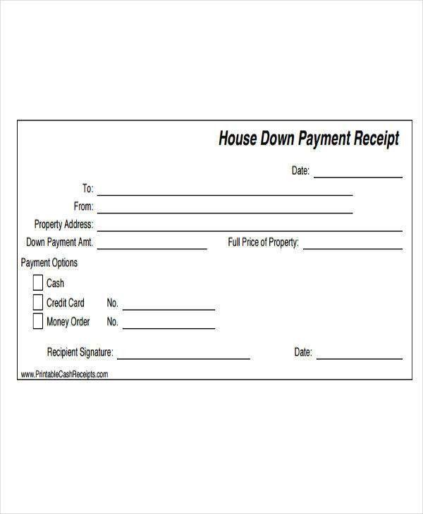 21 Payment Receipt Templates