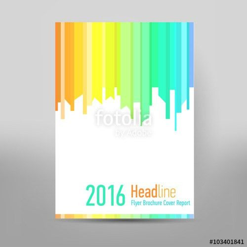 Catalog Cover Design. Annual Report Cover. Brochure design. Front ...