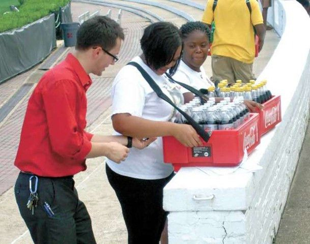 Area teens get their first taste of the workforce selling drinks ...
