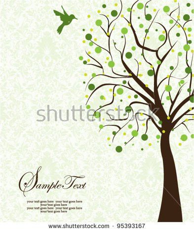 Family Reunion Invitation Card Stock Vector 97868489 - Shutterstock