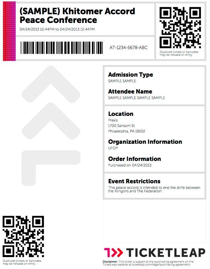 Ticketleap Ticket Examples – Ticketleap