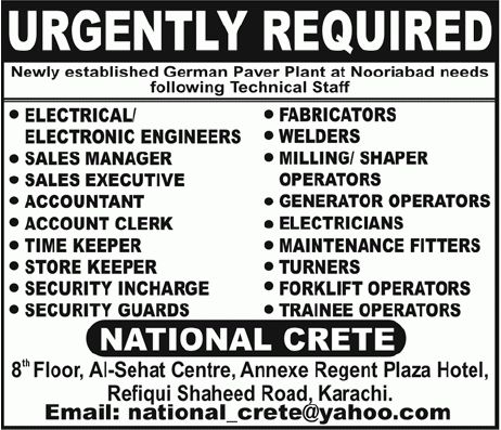 Electrical Engineer, Electronics Engineer, Sales Manager, Sales ...