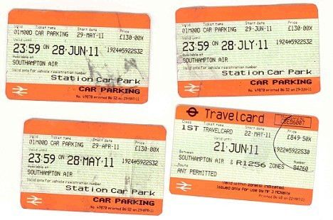 Middle-class train fare fraudsters created fake first class ...