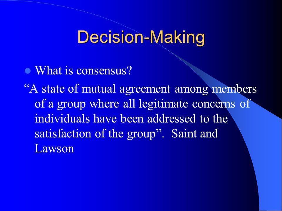 Mutual Consensus 95 | Samples.csat.co
