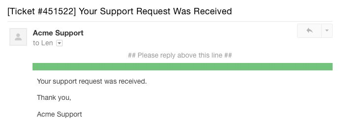 How to Write a Perfect Customer Service Auto-Reply Email