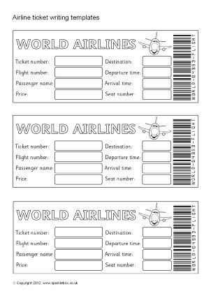 Passport Writing Frames and Printable Page Borders KS1 & KS2 ...