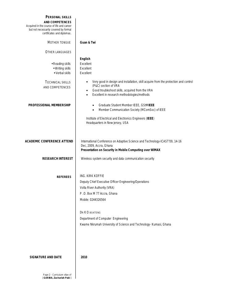 Language On Resume | Resume Language Resume Format Download Pdf ...