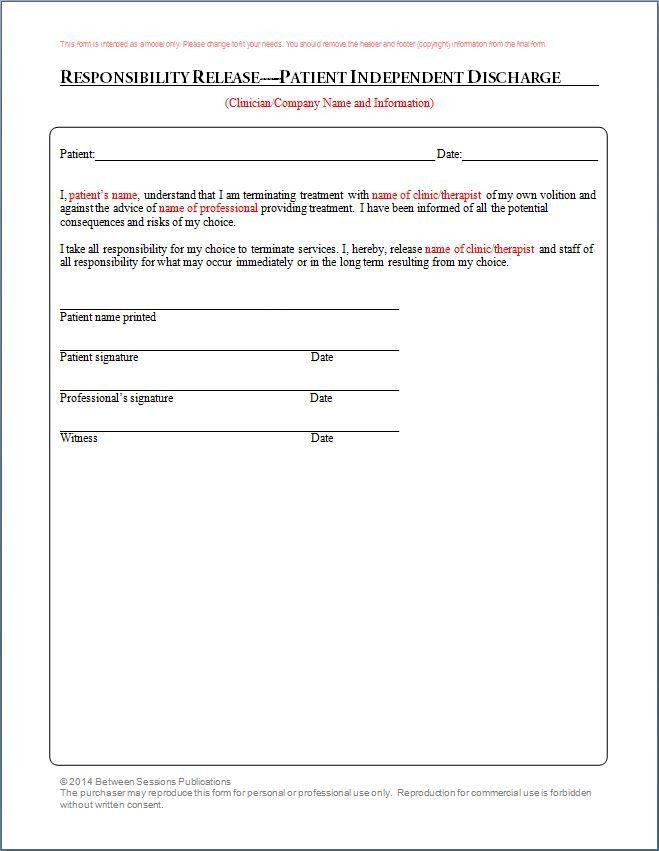 Between Sessions Counseling Form | Treatment Plan Template ...