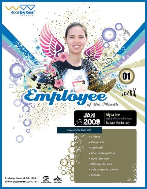 January 2009 Employee of The Month - Exabytes Web Hosting Blog