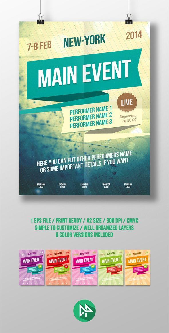 Best 25+ Event poster template ideas on Pinterest | Event poster ...