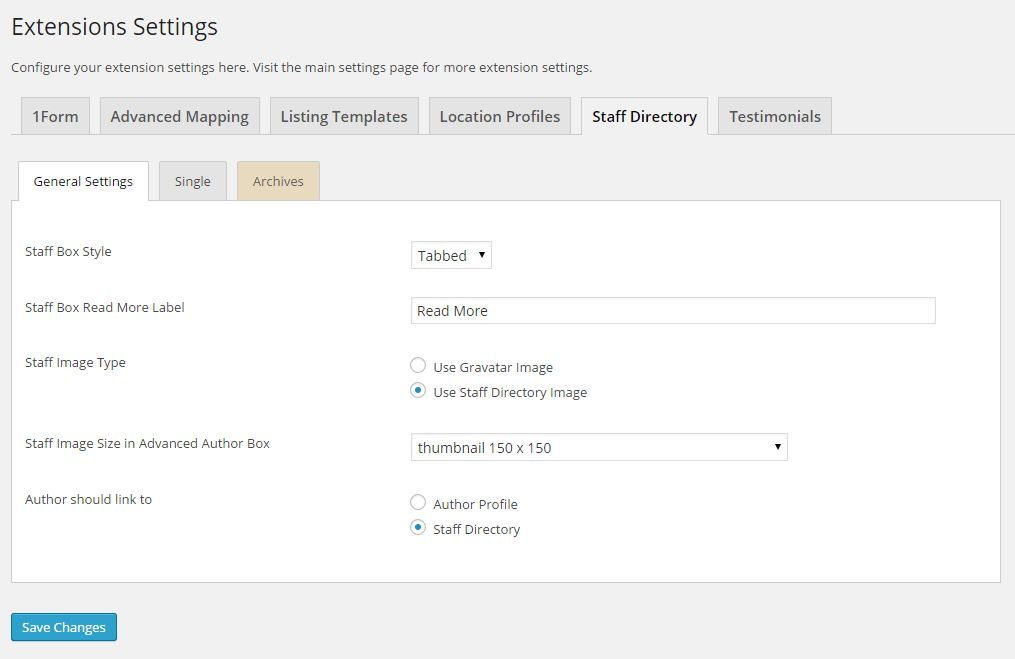 Staff Directory - Easy Property Listings WordPress Plugin
