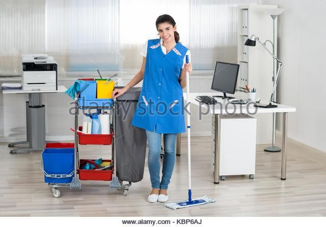Janitor Mopping Stock Photos & Janitor Mopping Stock Images - Alamy
