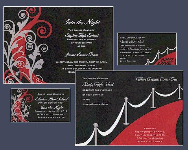 Prom Invitation 2012