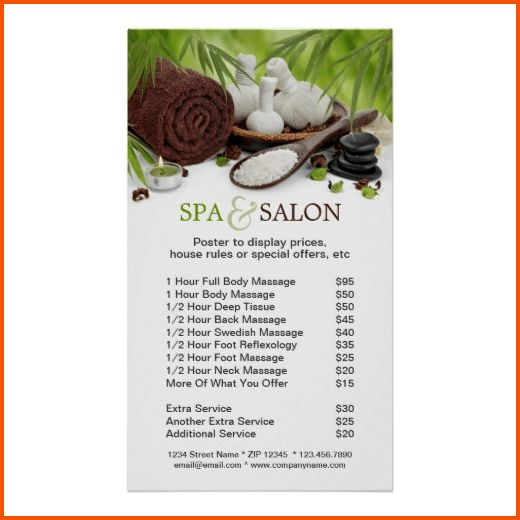 10+ salon price list template | Survey Template Words