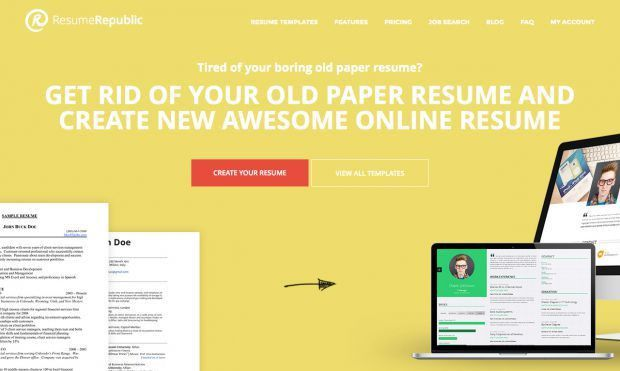 free resume hosting provider and online resume builder - Resume ...