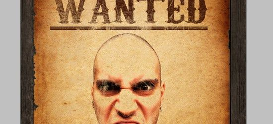 How to Make an Old Western Wanted Poster in Photoshop
