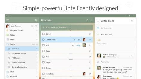 Get Wunderlist: To-Do List & Tasks - Microsoft Store